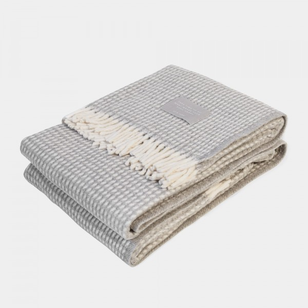 Cozy Blanket Grey-White 170x130cm