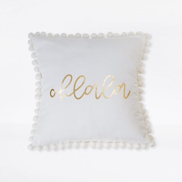 JO & JUDY – Pillow Case White 40x40cm