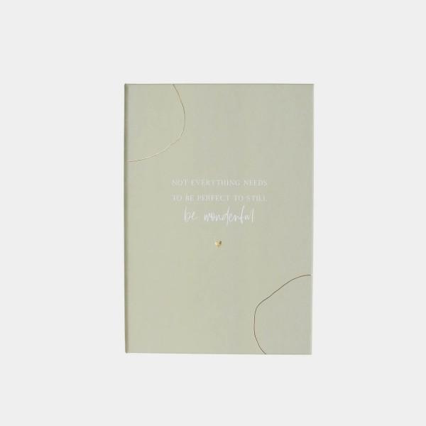 """Sticky Notes Book """"Be wonderful"""""""