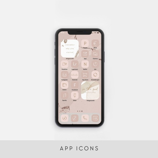 "App Icons ""Pink"""
