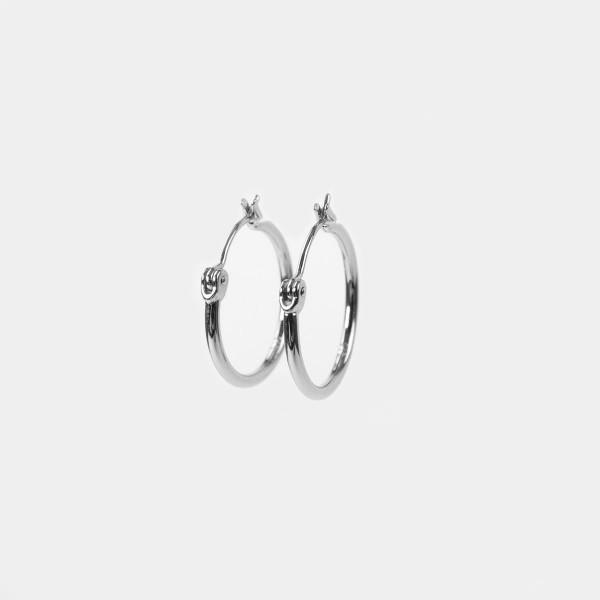 Hoops Silver (2er Set)