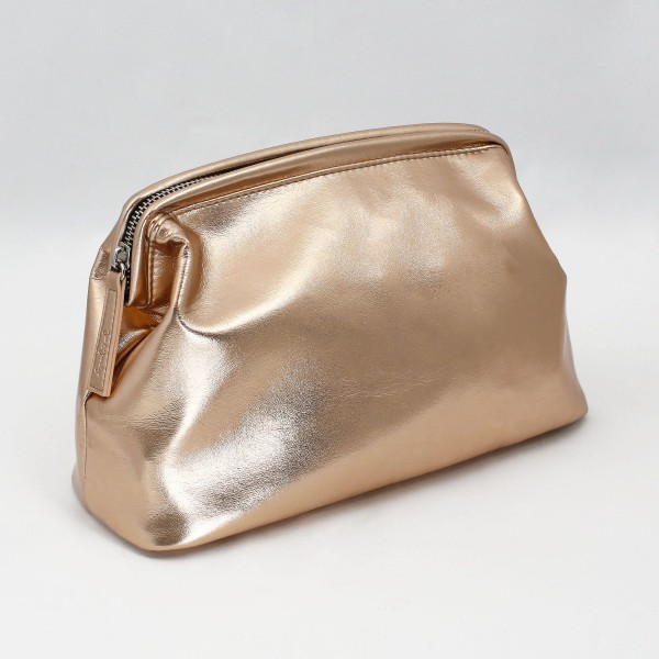 JO & JUDY - Beauty Bag Rose Gold - Front View