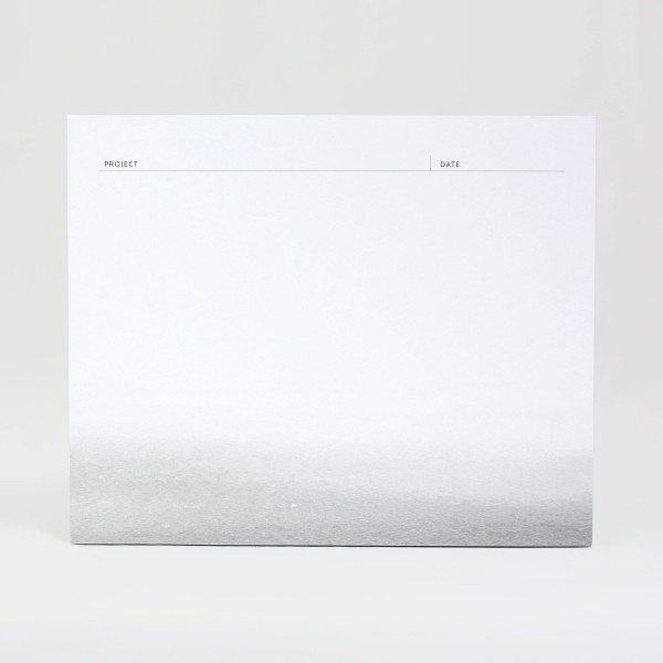 JO & JUDY - Notepad Grey - Front