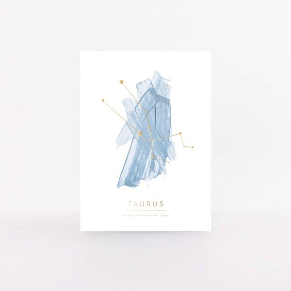 """Postcard """"Taurus"""""""