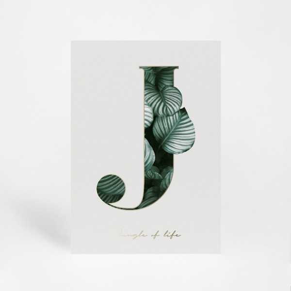 """Print A3 """"J"""""""
