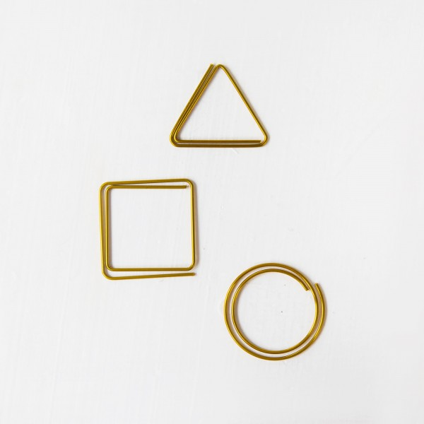JO & JUDY - Paper Clips Gold