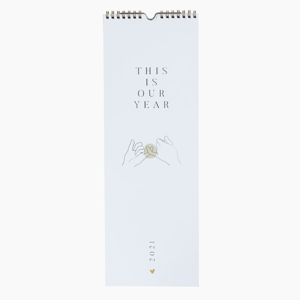"Wall Calendar 2021 ""Our Year"""