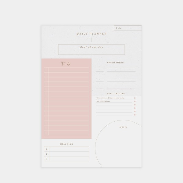 """Notepad A4 """"Daily Planner"""""""