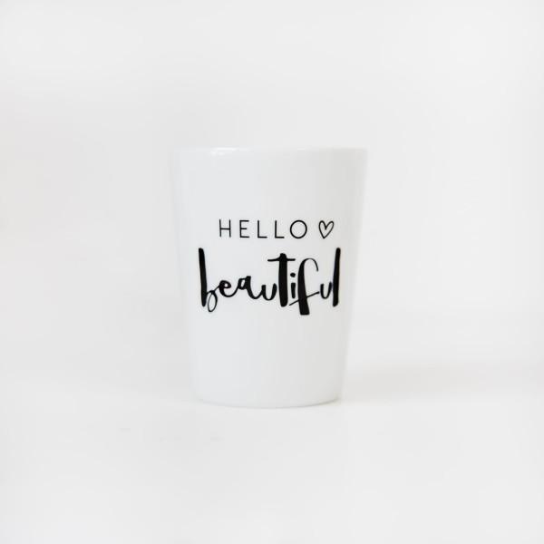 """JO & JUDY – Mug """"Hello Beautiful"""""""