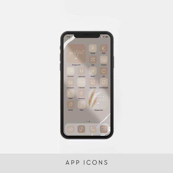 """App Icons """"Beige"""""""