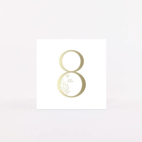 """Number Postcard """"8"""""""