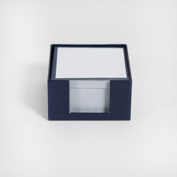 JO & JUDY - Memo Box Dark Blue - Front View