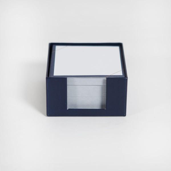 JO & JUDY - Memo Box Dark Blue - Front View