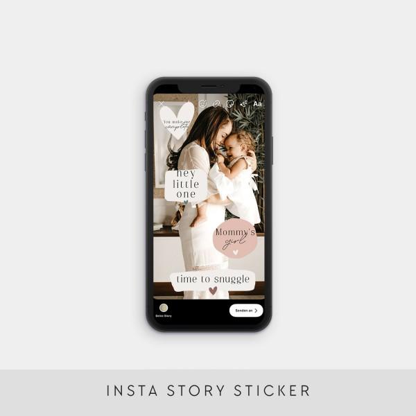 "Insta Story Sticker ""Baby"""