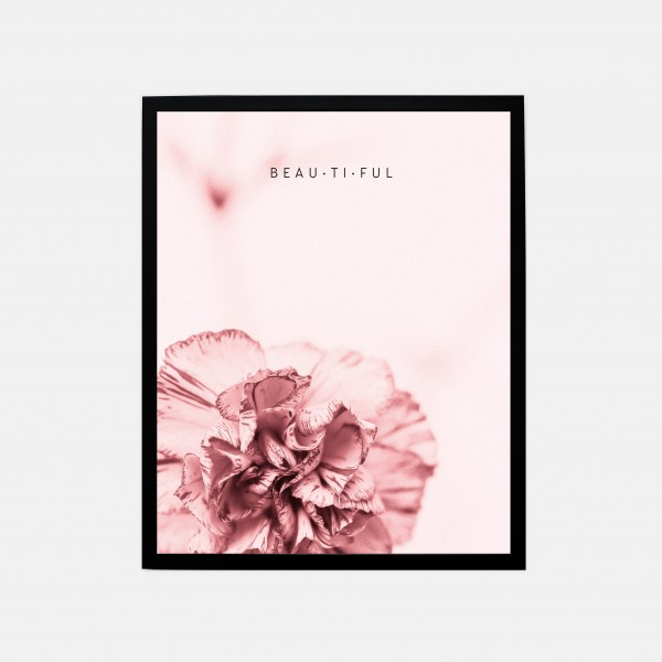 "Poster 40x50cm ""Beautiful"""