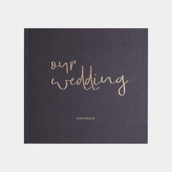 """Hochzeitsgästebuch """"Our Wedding"""""""