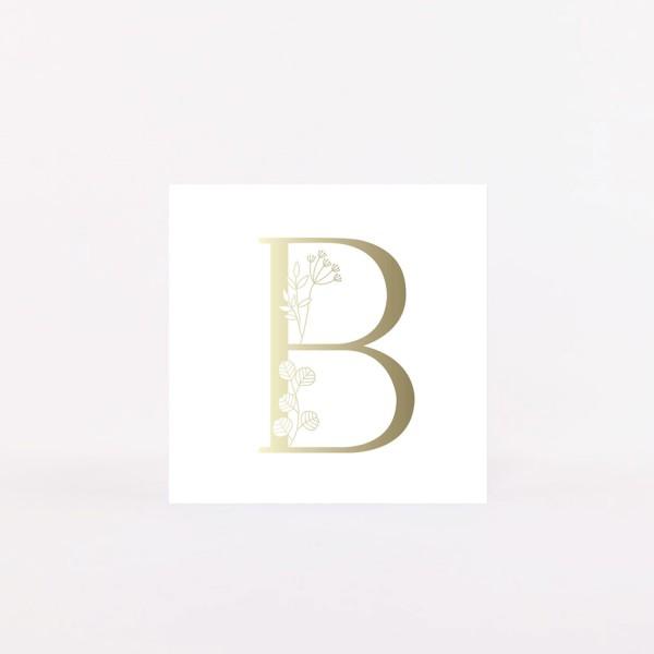 "Letter Postcard ""B"""