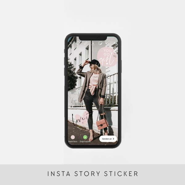 "Insta-Story-Sticker ""Basic"""
