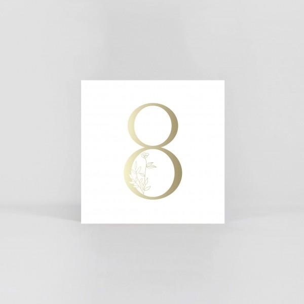 """JO & JUDY – Number Postcard """"8"""""""