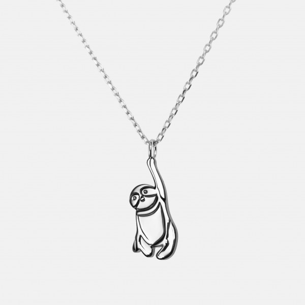 "Necklace ""Sloth"" Silver"