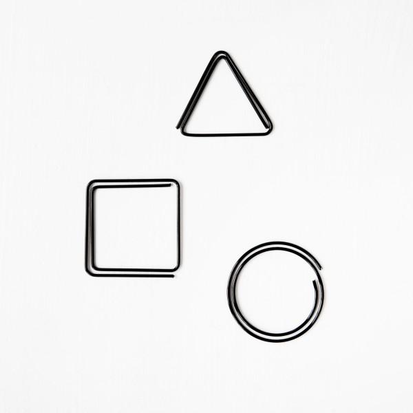 JO & JUDY - Paper Clips Black