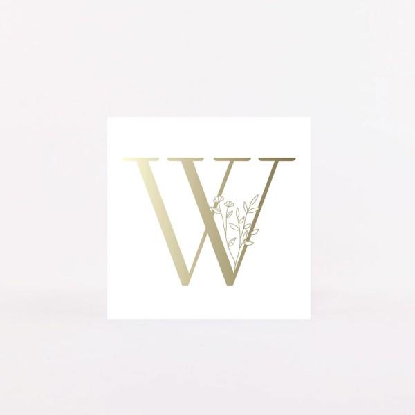 """Postcard """"W"""""""