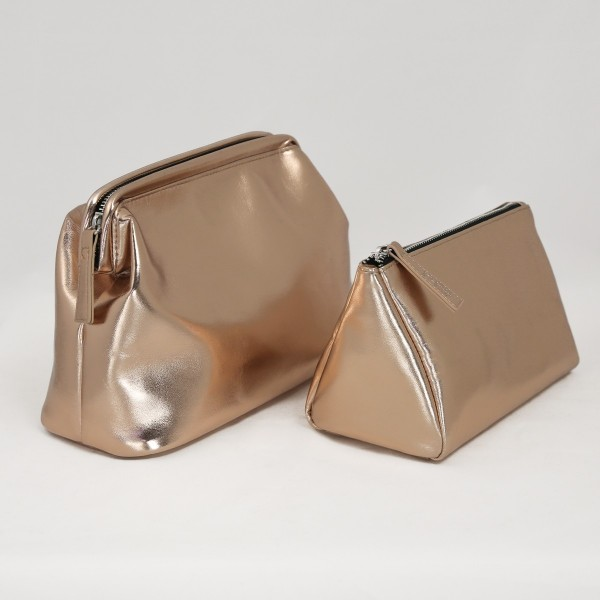 JO & JUDY - Beauty Bag and Cosmetic Bag - Rose Gold