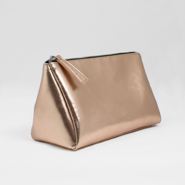 JO & JUDY - Cosmetic Bag Rose Gold - Front VIew