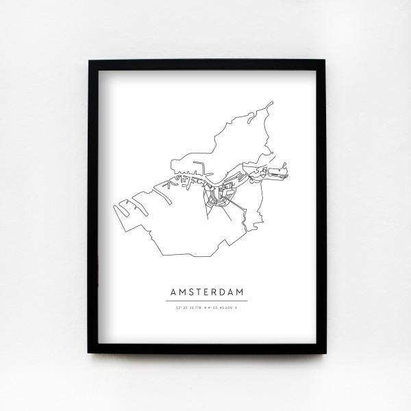 "JO & JUDY – Poster 40x50cm ""Amsterdam"""