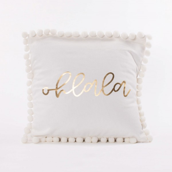 Pillow Case White 40x40cm