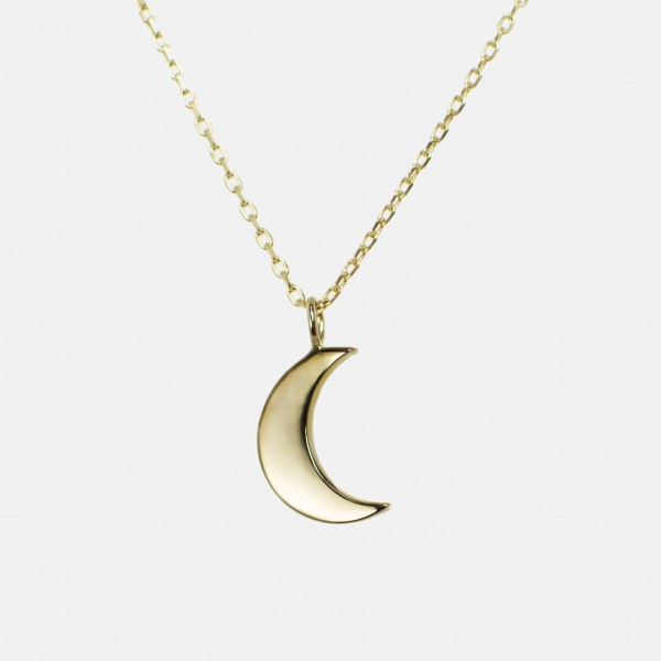 "Necklace ""Moon"" Gold"