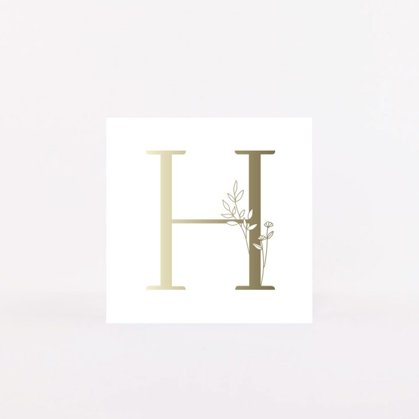 "Postcard ""H"""