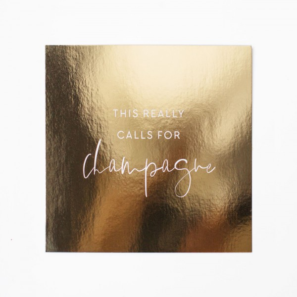 "Postcard Gold ""Champagne"""