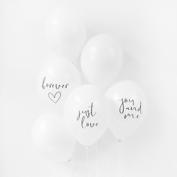 "Balloon Set ""Wedding"""