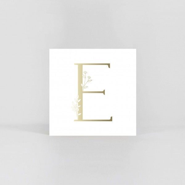 "JO & JUDY – Letter Postcard ""E"""