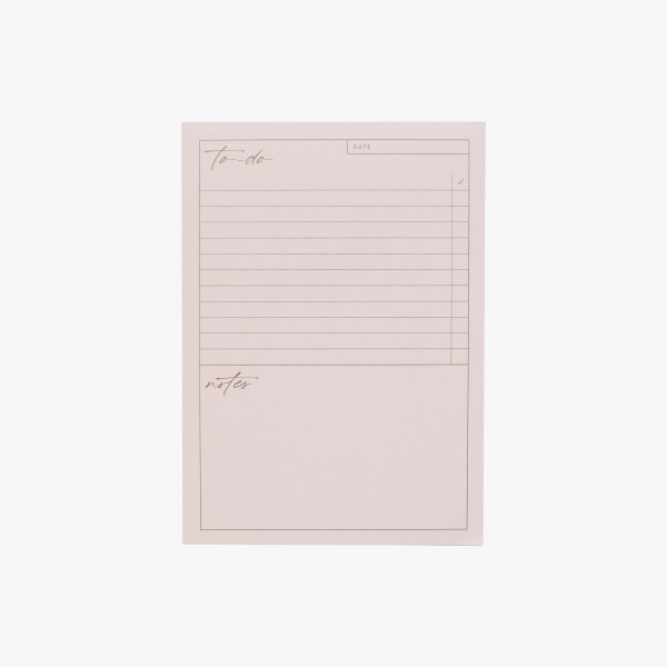"Notepad A6 ""To-Do"""