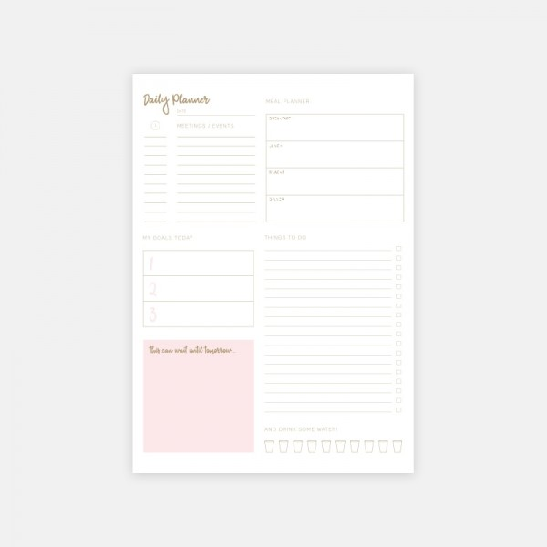"Notepad ""Daily Planner"""