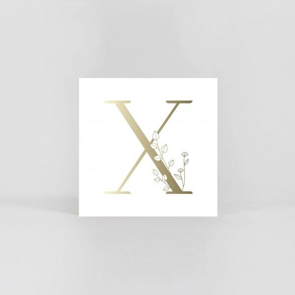 "JO & JUDY – Letter Postcard ""X"""