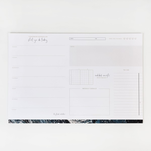JO & JUDY – Writing Pad Blue