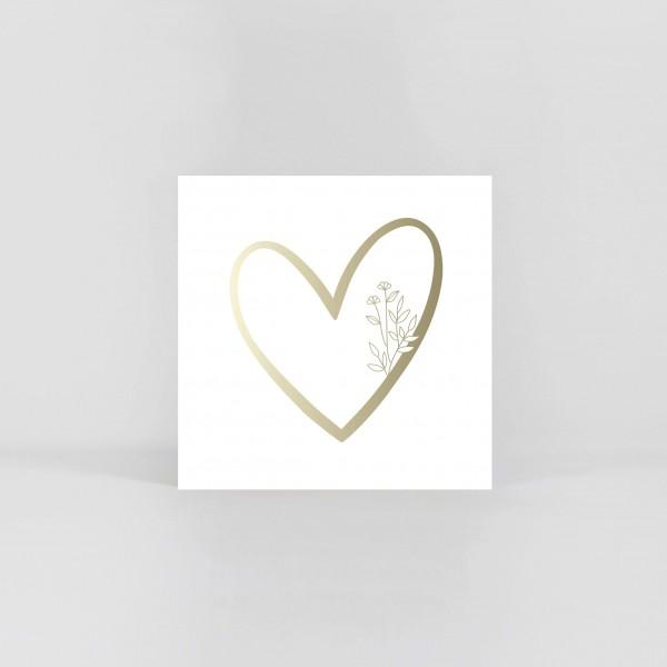 "JO & JUDY – Symbol Postcard ""Heart"""