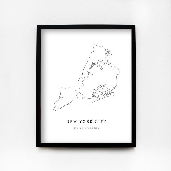 "JO & JUDY – City Poster 40 x 50 cm ""New York City"""