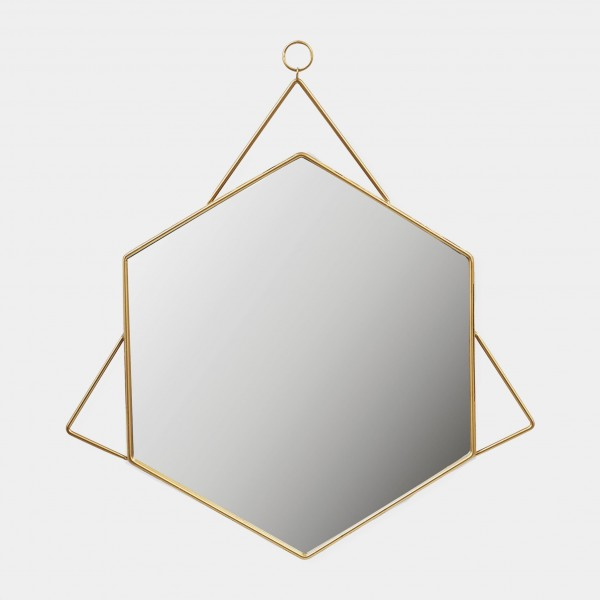Mirror Gold Geometrical