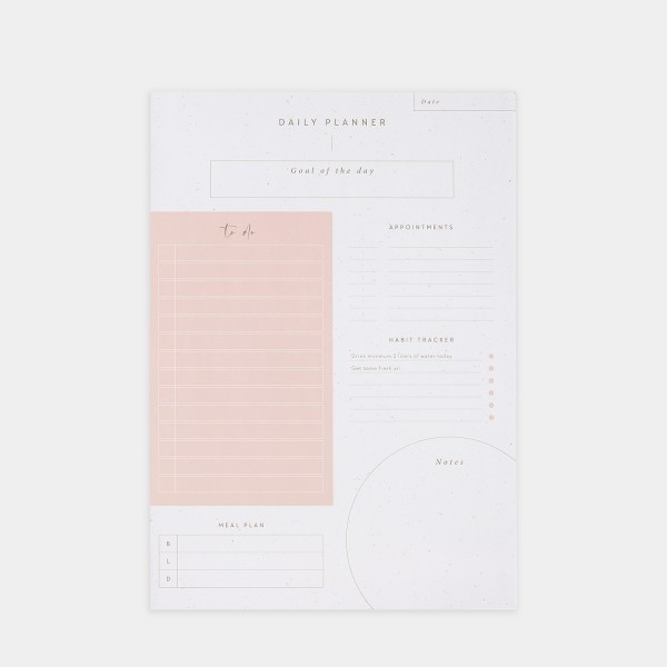 "Notepad A4 ""Daily Planner"""
