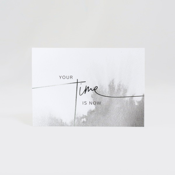 JO & JUDY - Card Grey - Your Time - Front