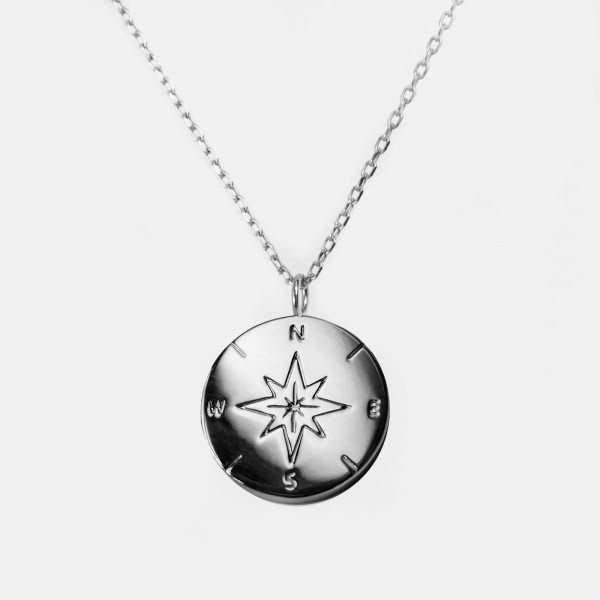 "Necklace ""Compass"" Silver"