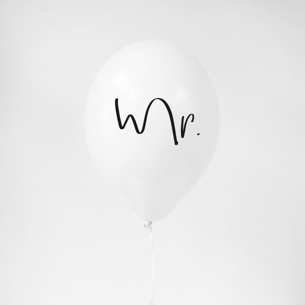 "Balloon ""Mr."""