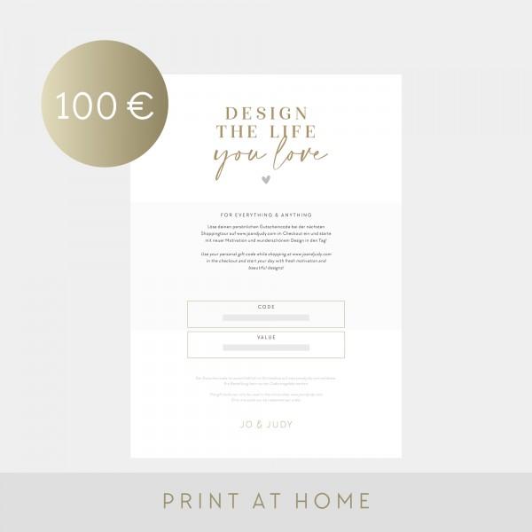 Voucher (100€) - Jo & Judy