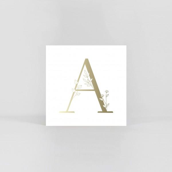 "JO & JUDY – Letter Postcard ""A"""