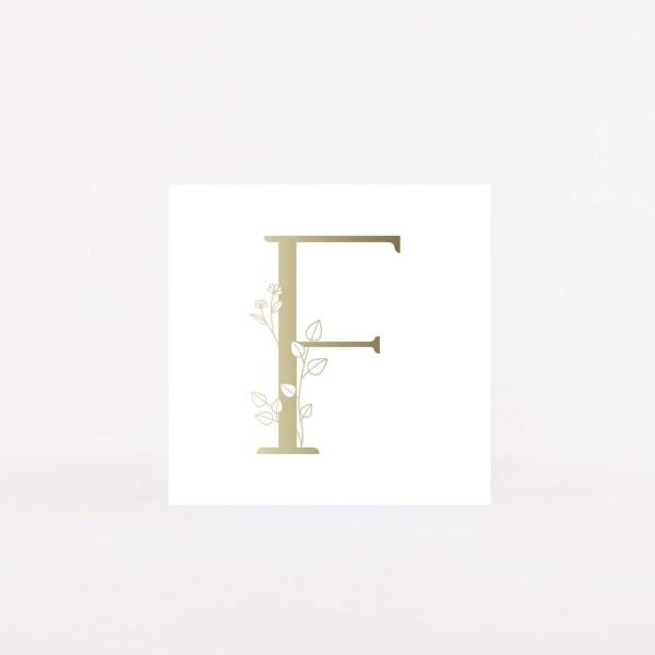 """Postcard """"F"""""""