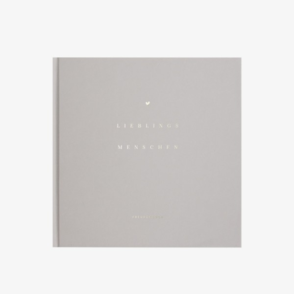 "Friendship Book ""Lieblingsmenschen"""